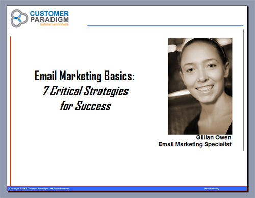 Email Marketing Basics: 7 Strategies for Critical Email Communication