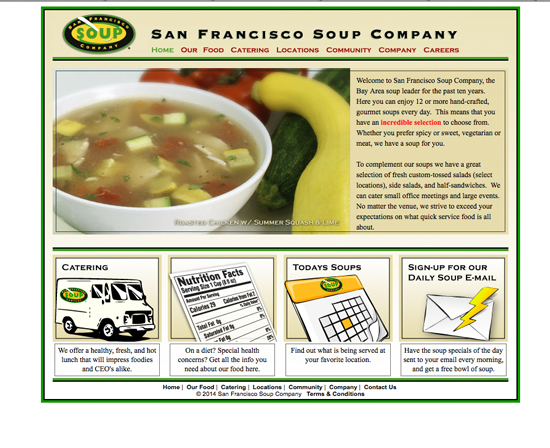 San Francisco Soup Company - Review of Customer Paradigm