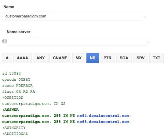 Last week's DNS DDOS attack | Customer Paradigm