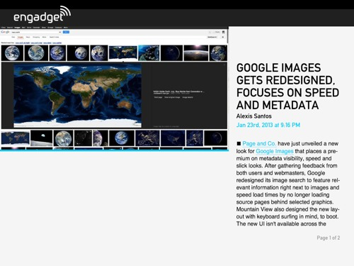 Google Images Redesign SEO