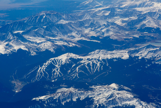 Copper Mountain Ariel Photograph