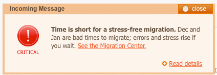 Magento - Time is Short to Migrate!