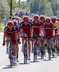 USA Pro Challenge Bike Race in Boulder, Colorado