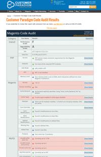 Free Magento Code Audit Reporting Tool