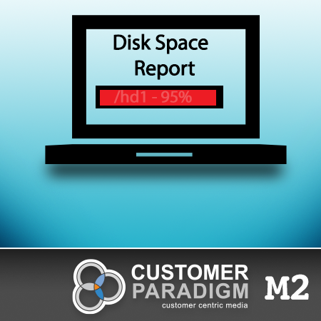 Disk Space Report - Magento 2 Extension