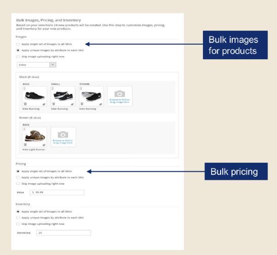 Magento 2.0 Admin - Bulk Image Add On System