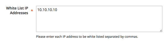 How to Whitelist IP addresses so that you can still see the Magento 2.0 Website in the admin area and front end of the site.