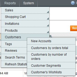 Additional Reporting for Customer Segments and Wishlists in Magento Enterprise