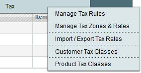 Magento Tax Rules and Navigation