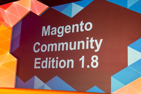 Magento Community Edition - 1.8