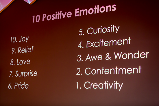 Top Ten Emotions Solved by Gaming