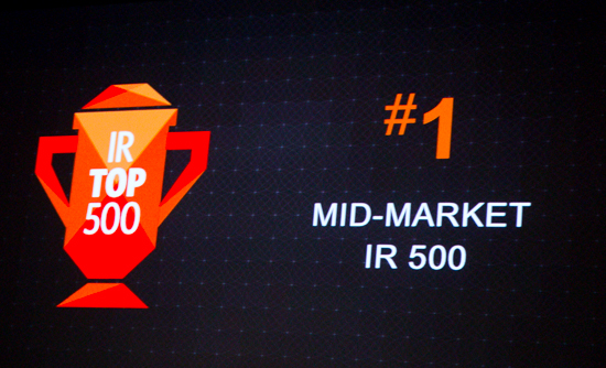 Magento Top in Mid-Market IR 500