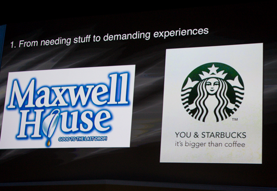 Maxwell House to Starbucks