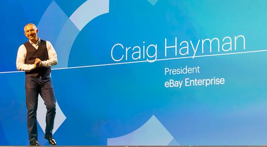 Craig Hayman - President, eBay Enterprise
