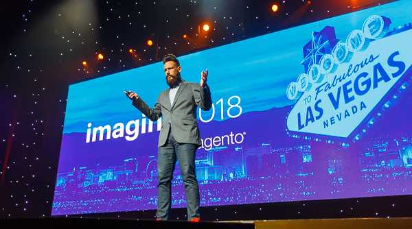 Phillip Jackson - MC of Magento Imagine 2018