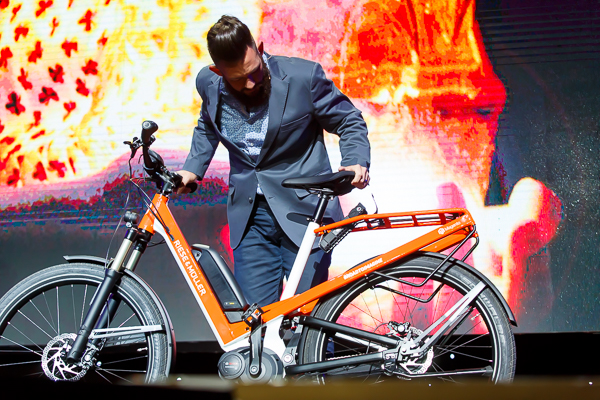 electric bike was part of an auction to raise money for the Make a Wish Foundation