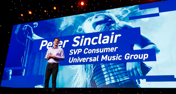 Peter Sinclair, SVP Consumer of Universal Music Group