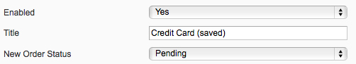 Magento Backend Default Credit Card Saved Title
