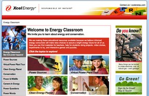 Energy Classroom - Magento Site