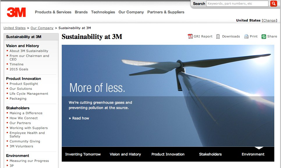sustainability at 3m 3m released its 2014 sustainability report, highlighting its new sustainability center of excellence, results of a global stakeholder survey and case studies o.