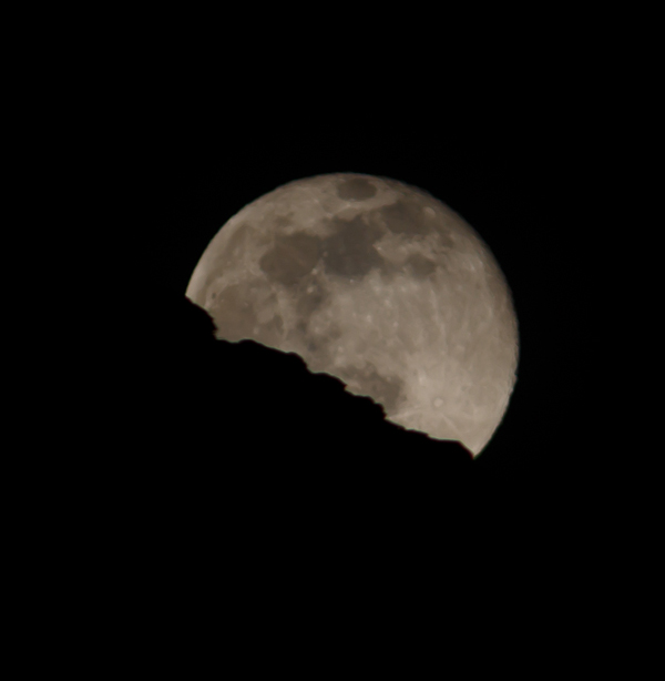 Full Moon Rising over Moab, Utah