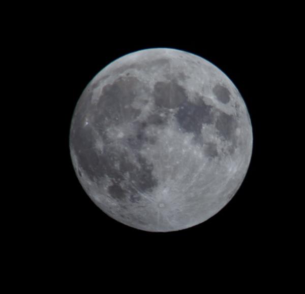 Full Moon Over Boulder, CO