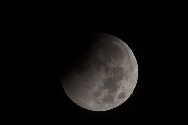 Partial Eclipse Moon
