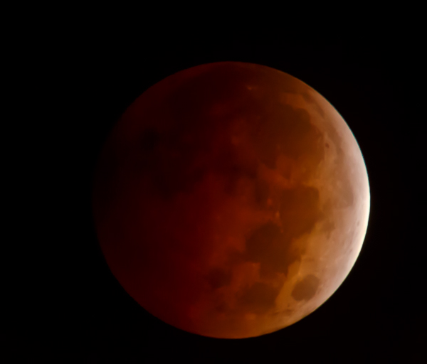 Blood Moon - Full Moon Lunar Eclipse