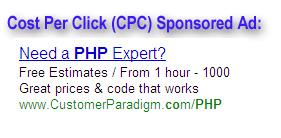 CPC Advertisement