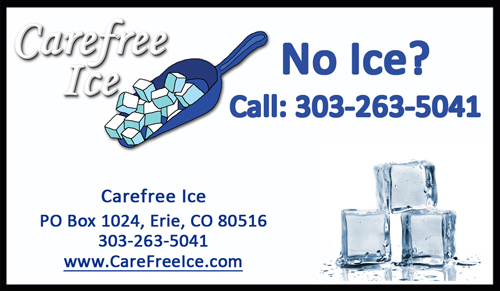 Sticker - No Ice? Call Us!