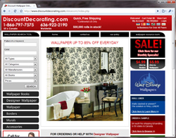 Ecommerce - Discount Decorating.com Site