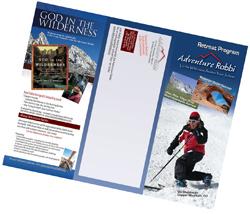 Print Design - Trifold brochure