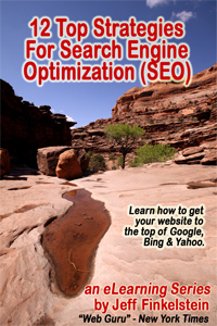 12 Top Strategies for Search Engine Optimization (SEO) (free eBook)