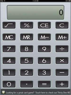 iPad Calculator XL