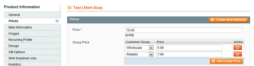 How to set up customer group pricing in Magento