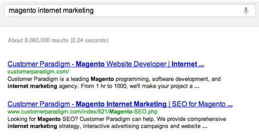 Top 7 SEO Mistakes to avoid in Magento: #2 Default title tags - set