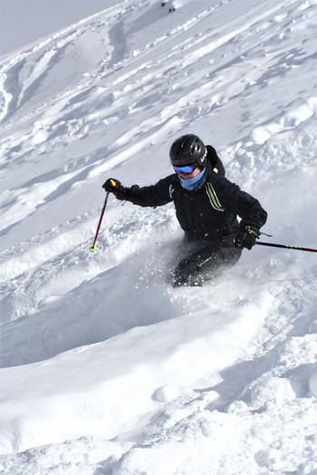 Melissa - Skiing Deep Snow at Copper Mountain