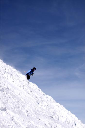 Skiing at Copper Mountain - Union Peak