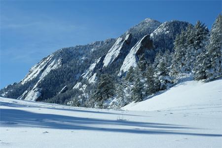 Ski Photo - NCAR to the South