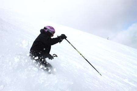 Deep Powder Skiing - Breckenridge Colorado