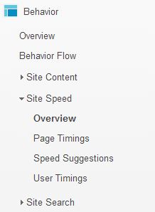 Analytics Page Load Speed