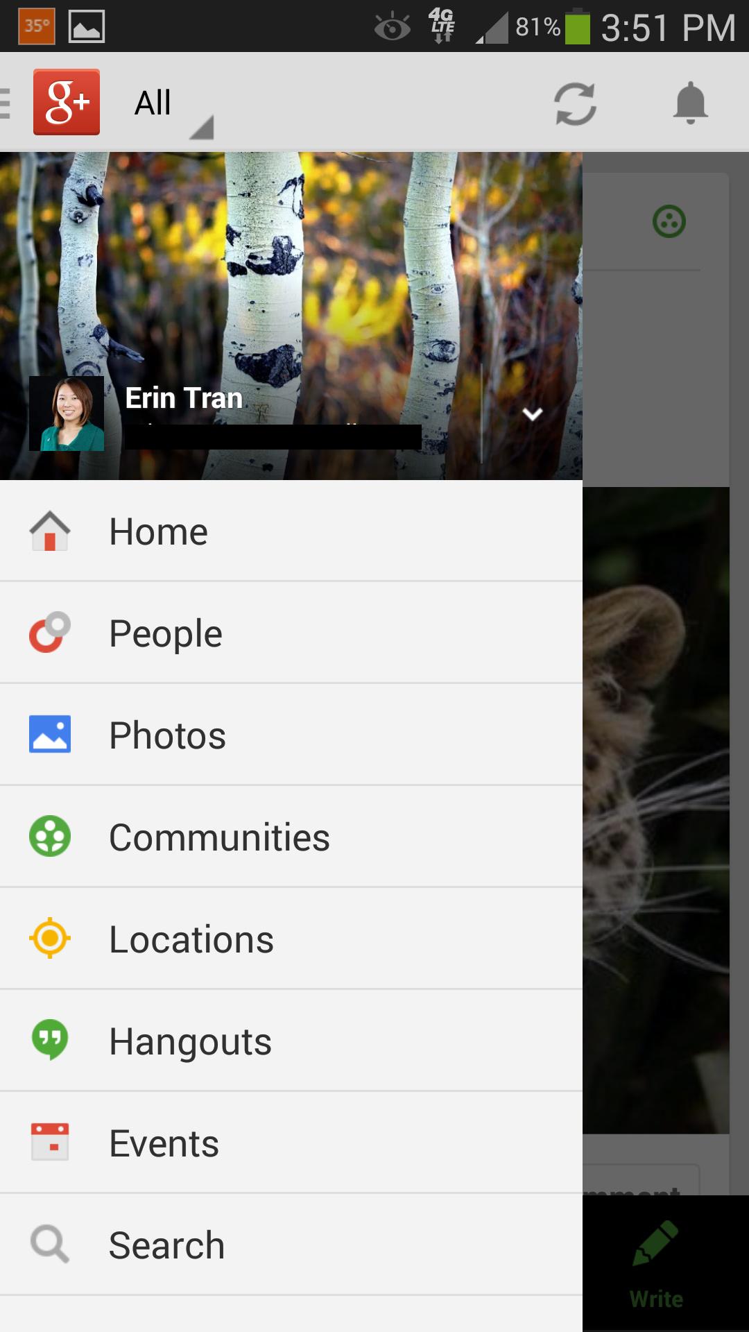 Google+ Mobile App - Customer Paradigm SEO