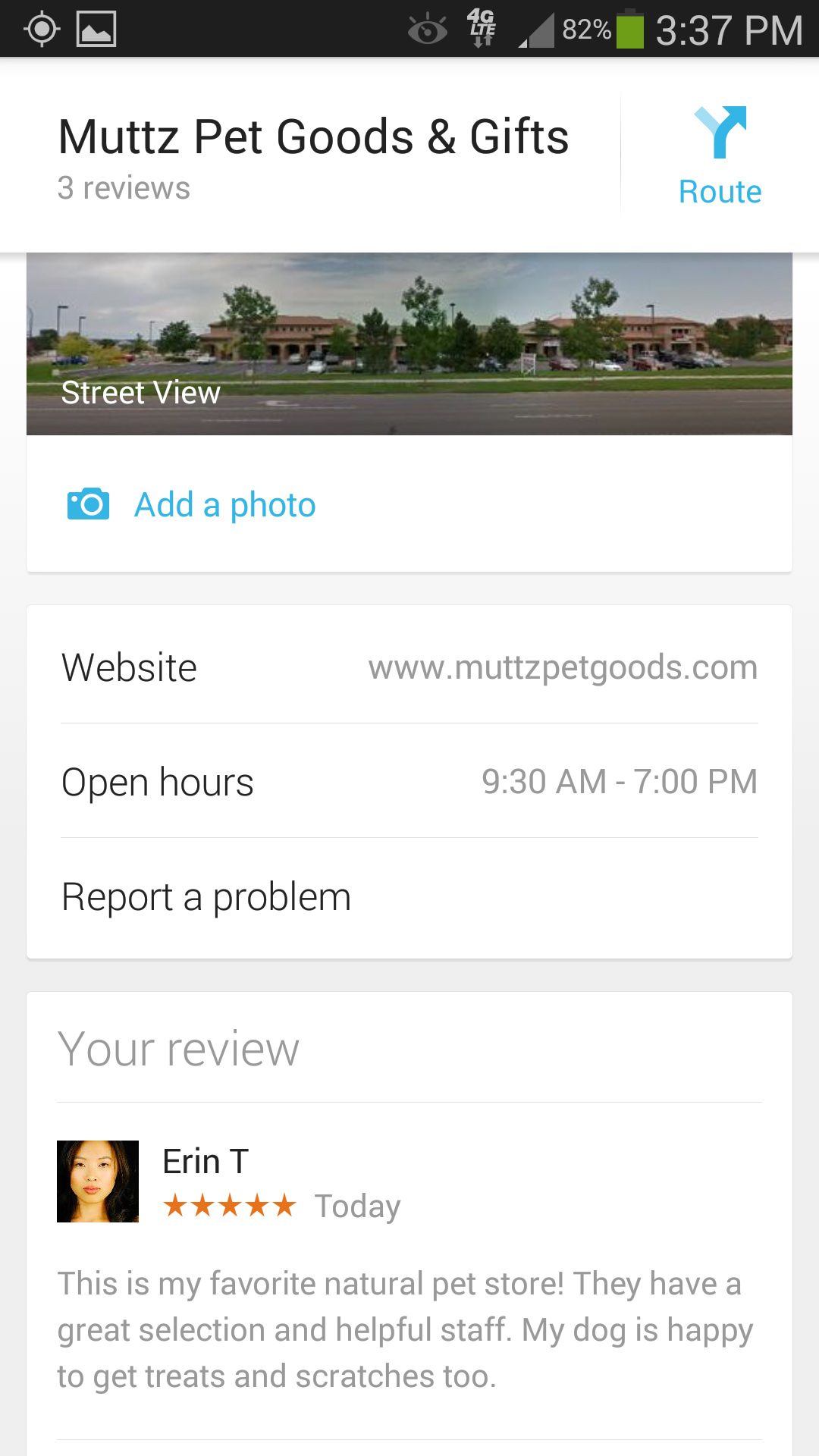 Google+ Mobile Business Page Reviews - Customer Paradigm SEO