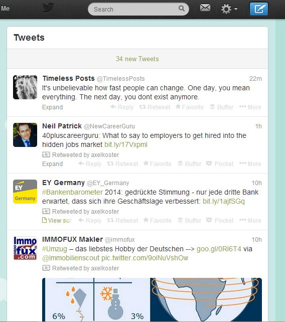 Twitter Feed Screenshot