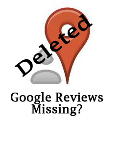 Missing Google reviews?