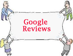 Safe business practice for keeping Google Reviews
