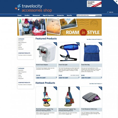 Travelocity Accessories Shop