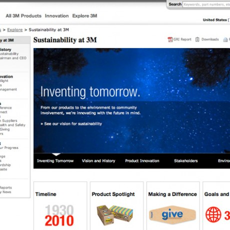 3M Sustainability Website