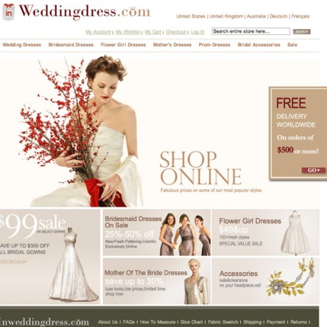 In Wedding Dress – Magento