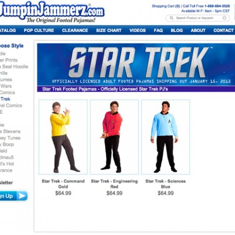 Jumpin Jamerz – Magento Development